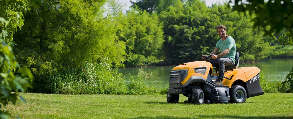 gräsklippare stiga åkgräsklippare husqvarna robotgräsklippare robot jonsered gardena
